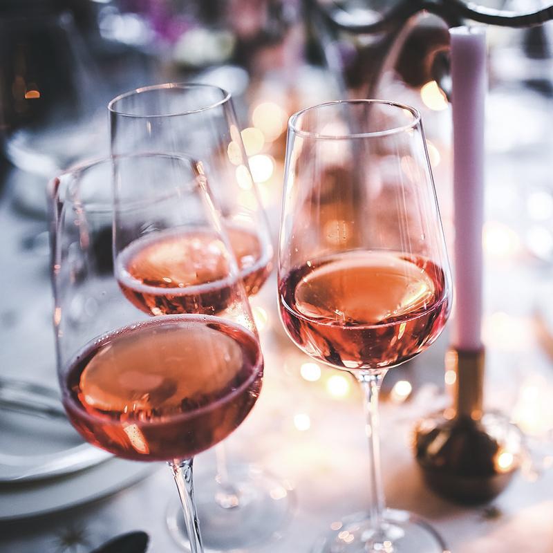 photo vins rosés
